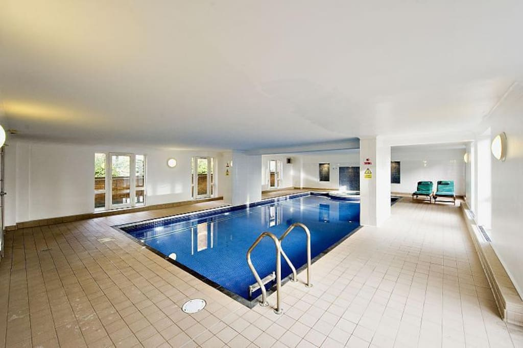 Located on the first floor is the pool, jacuzzi and sauna facilities for residents