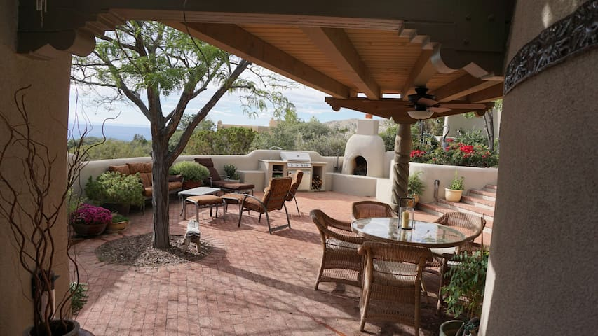 Private Casita with Stunning Views - Albuquerque - Gästhus
