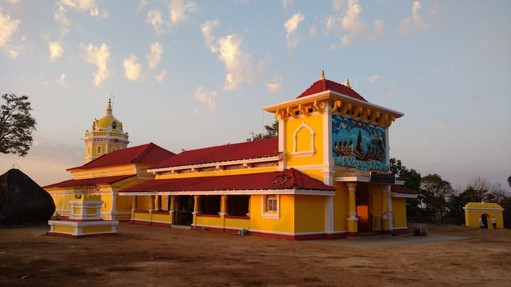 The Chandreshwar Bhoothnath temple.