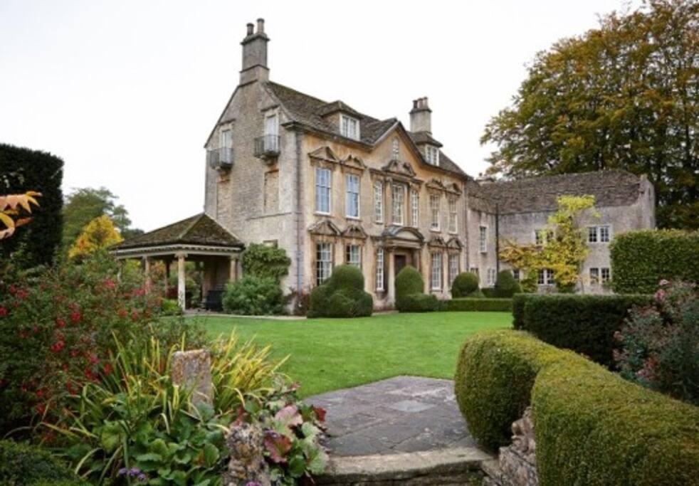 Grade II listed Georgian manor house