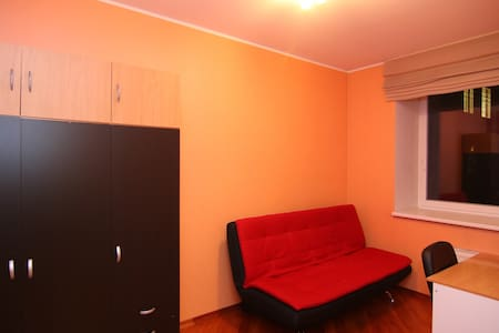 Private city center bedroom 2 (WIFI, sauna) - Tartu - Apartmen