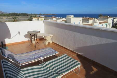 Ocean side condo with private roof - Playas de Vera - Apartment