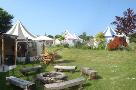 Belle Tents Camping - Whole Site - Davidstow - Tent