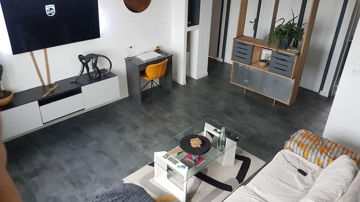 Rennes - Appartemment 2 chambres