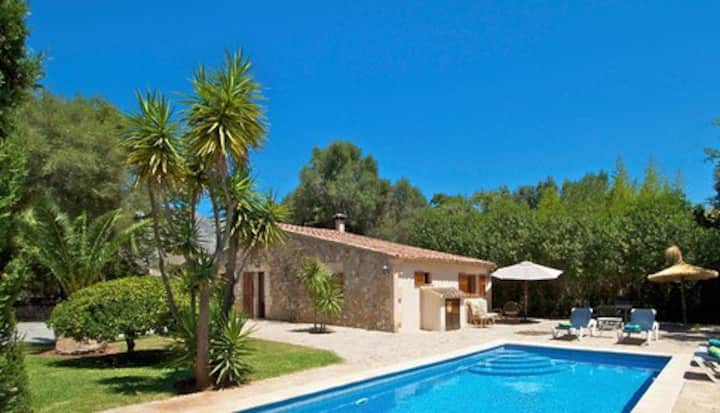 Cozzy cottage near Pollensa and Cala San Vicente