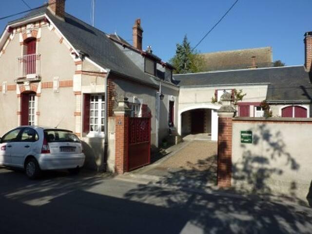 Maison vigneronne en Touraine