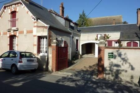 La maison rouge - Saint-Martin-le-Beau - Haus
