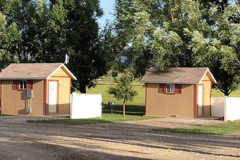 "Economy ""Tuff Shed"" Cabins Near Capitol Reef NP"