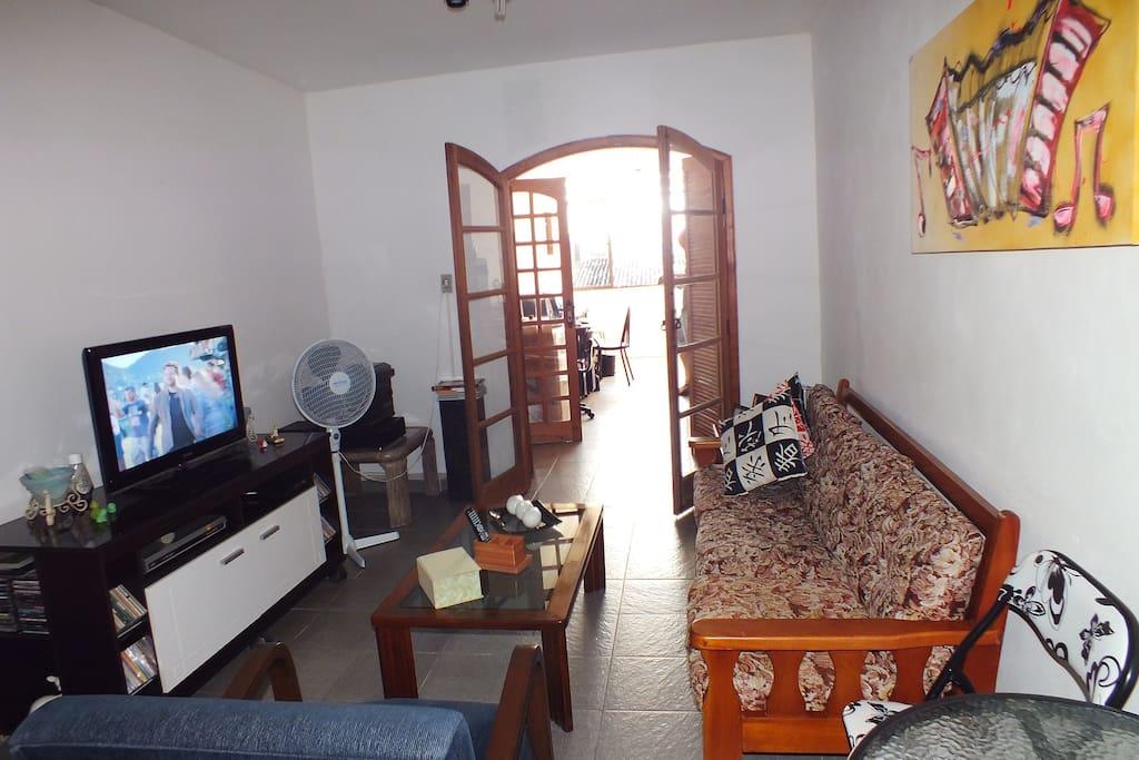 Sala para recebimentos de visitas