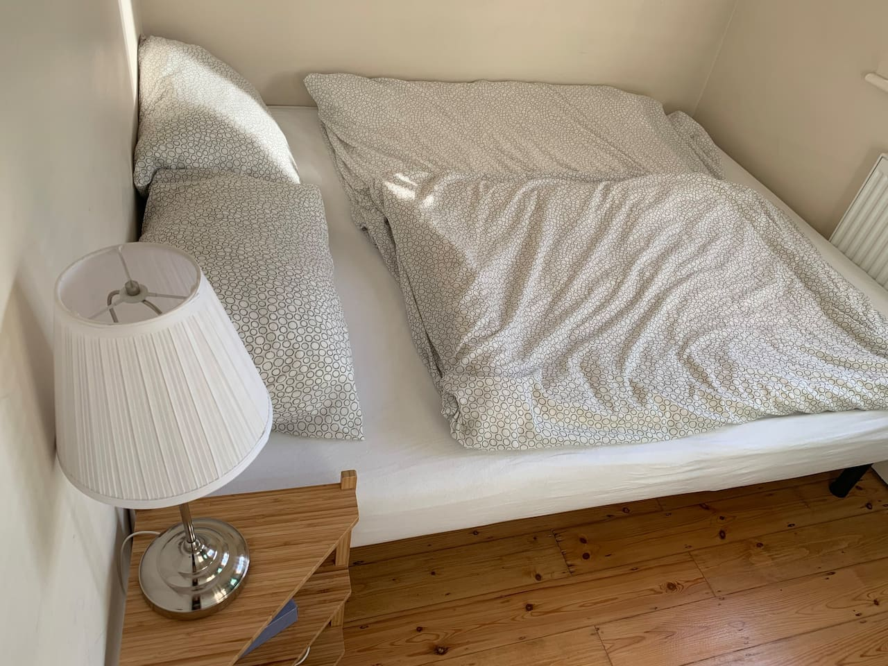 Your room, 160cm wide bed