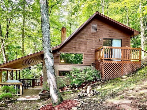 Creekside Hideaway Cabin in Nantahala  Forest
