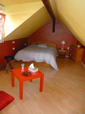 1 chambre confortable dans une maison individuelle - Hœrdt - บ้าน
