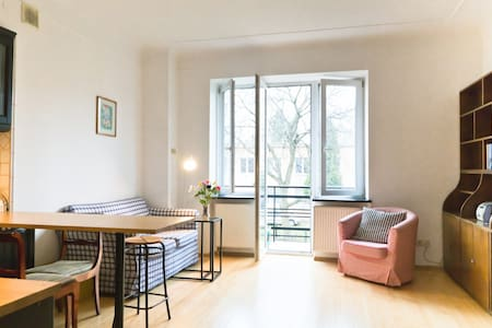 Gorgeous, sunny apartment. Gorgeous, trendy area. - Warschau - Wohnung