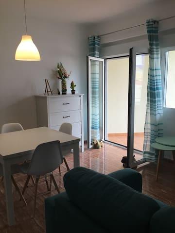 living room towards one terrace