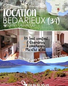 lamalou et sa région - Bédarieux - Apartamento