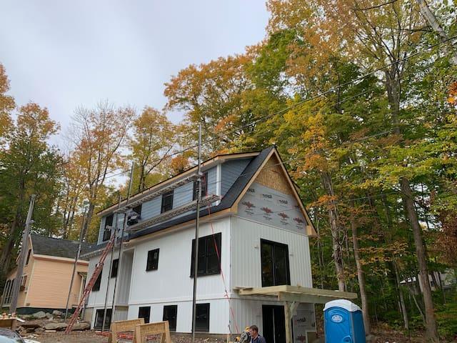 """""""The Never Inn"""" Bayside Maine  Built in 2019-20"""