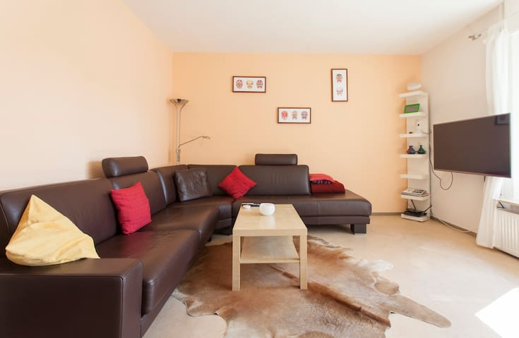 Cosy room near the Citycenter (including bike) - Erlangen - Leilighet