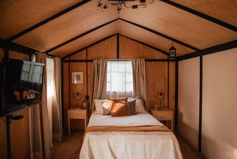 Cabin in Xochimilco Lake