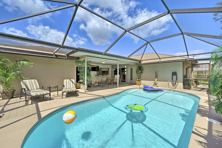 NEW! Cape Coral Retreat w/ Patio, 4 Mi to Beach!