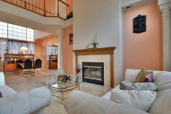2100 sq ft, 4 BR 3 bath, sunny spacious home - Fremont - Maison