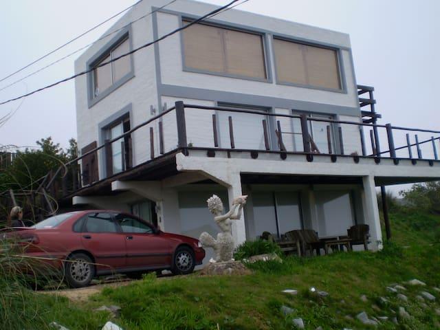 LAS CABAÑAS DEL ALEPH , ALTOS DE PUNTA PIEDRAS - Punta del Este - House