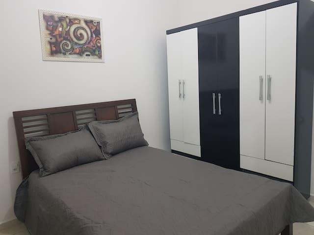 Apartamento confortavel e tranquilo.