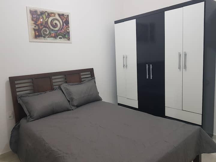Apartamento confortável e tranquilo.