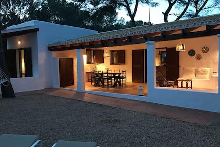Casa en playa Migjorn