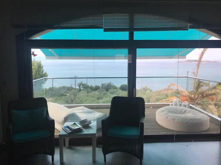 Luxurious attic double room