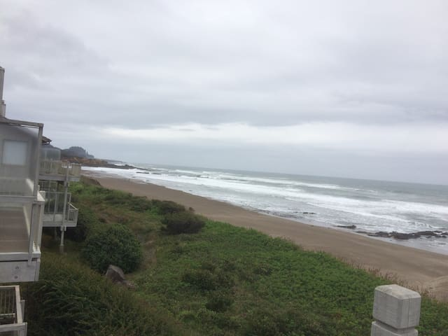 Waterfront 2 bedroom gated condo - Depoe Bay - Apartamento