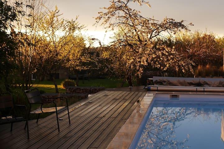 Spacieuse villa en Bourgogne - Saint-Seine-en-Bâche - บ้าน