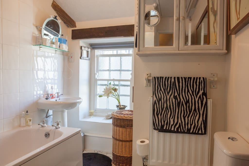 Bathroom shared with one owner.