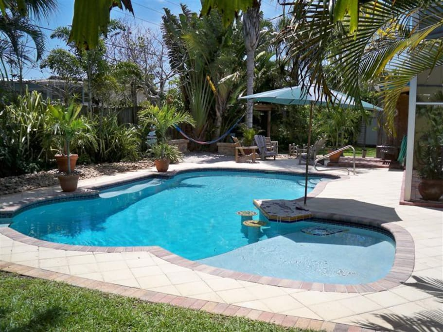 Awesome Pool and Patio with total privacy