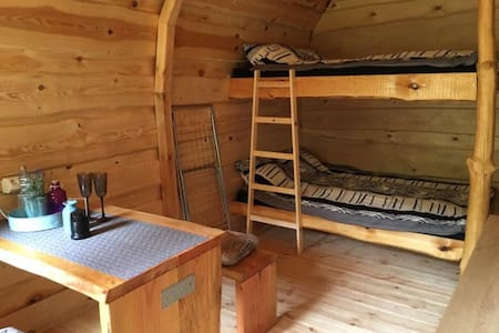 Glamping-Pod Wallendorf-pont 4 personen