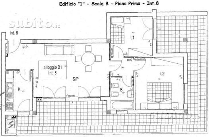 Affitto stanzetta singola o doppia - Roma - Casa