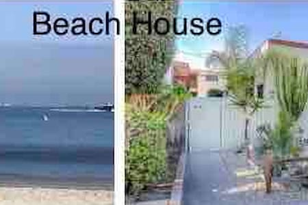Beach Bungalow studio front duplex, private ,gated