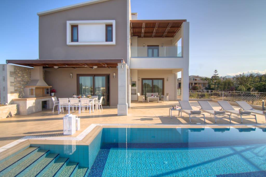 Villa Olia, outdoor area