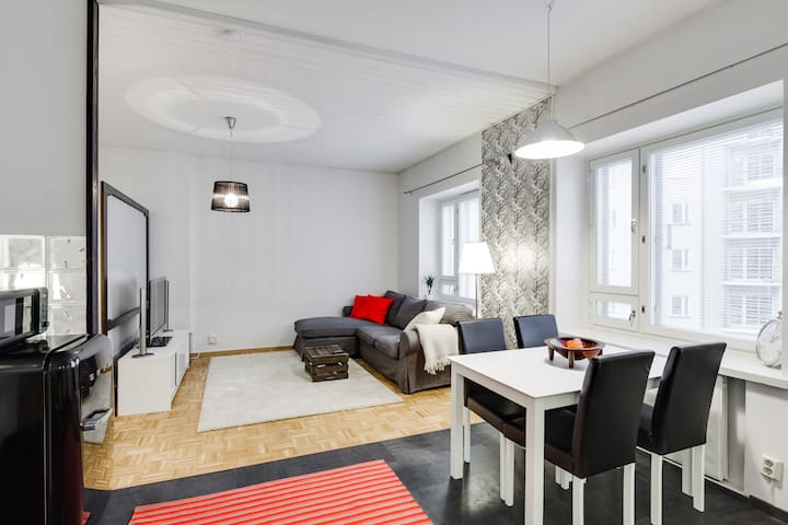 Cosy Helsinki Inner City Apartment - Хельсинки - Квартира
