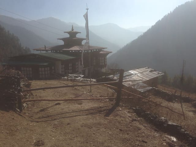 Takchu Farm House/ Haa Bhutan