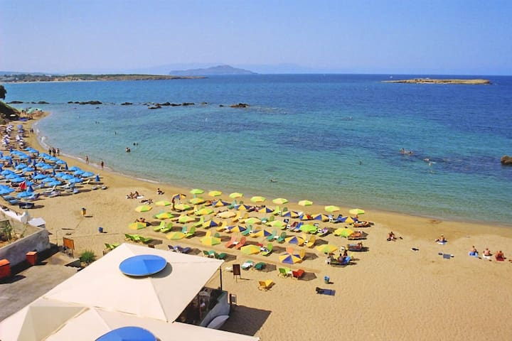 1 minute from Chania  city beach