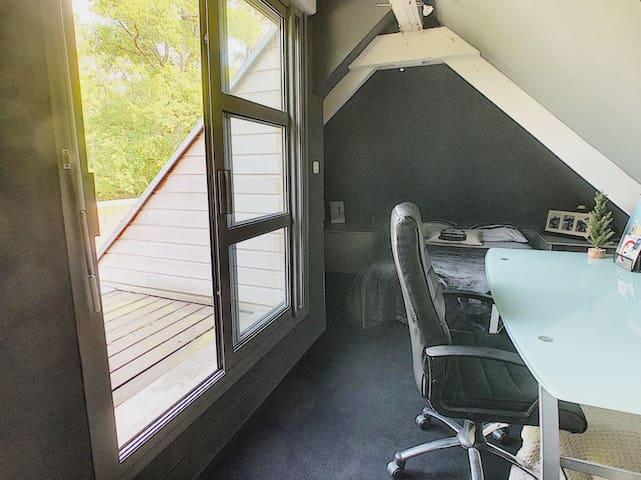 chambre 3 avec terrasse au 1er étage