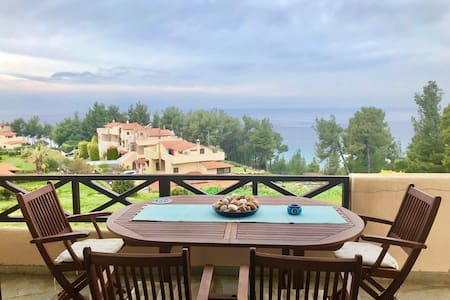 Summer house with amazing view in Chalkidiki