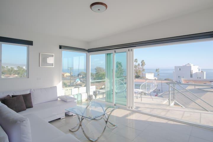 Loft con vista al mar en Playa San Miguel