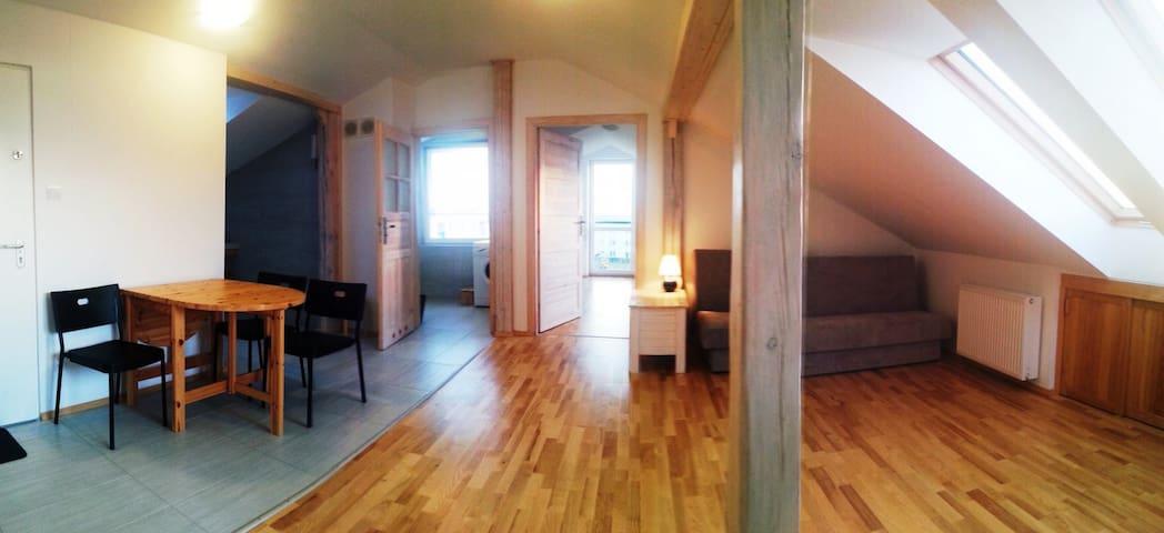 Ryn, 55m2, apartament Marcin