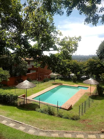 A quiet space in the heart of Johannesburg