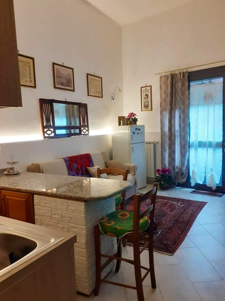 Apartment with one bedroom in Catania, with WiFi - 5 km from the beach