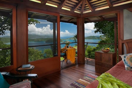 Teahouse Treehouse St. John Cottage - Coral Bay