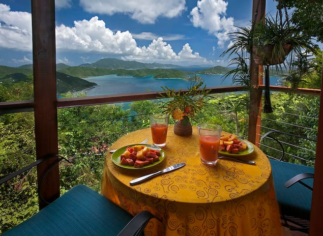 Breakfast with the Virgin Islands