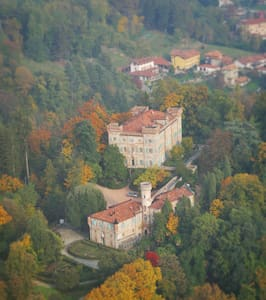 Two rooms in a castle near Biella - Vigliano Biellese - Bed & Breakfast