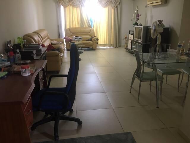 Private room in Damaipuri Condominium Ipoh